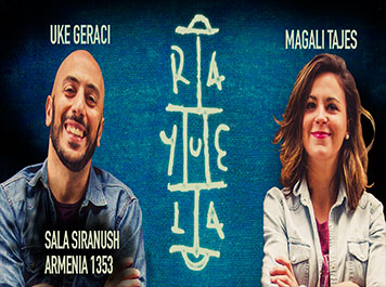11 de Marzo – 21hs Magalí Tajes y Uke Geraci – Rayuela Stand Up