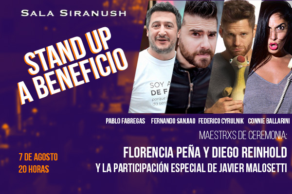 STAND UP A BENEFICIO