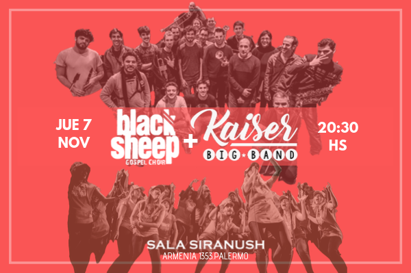 Black Sheep Gospel Choir & Kaiser Big Band